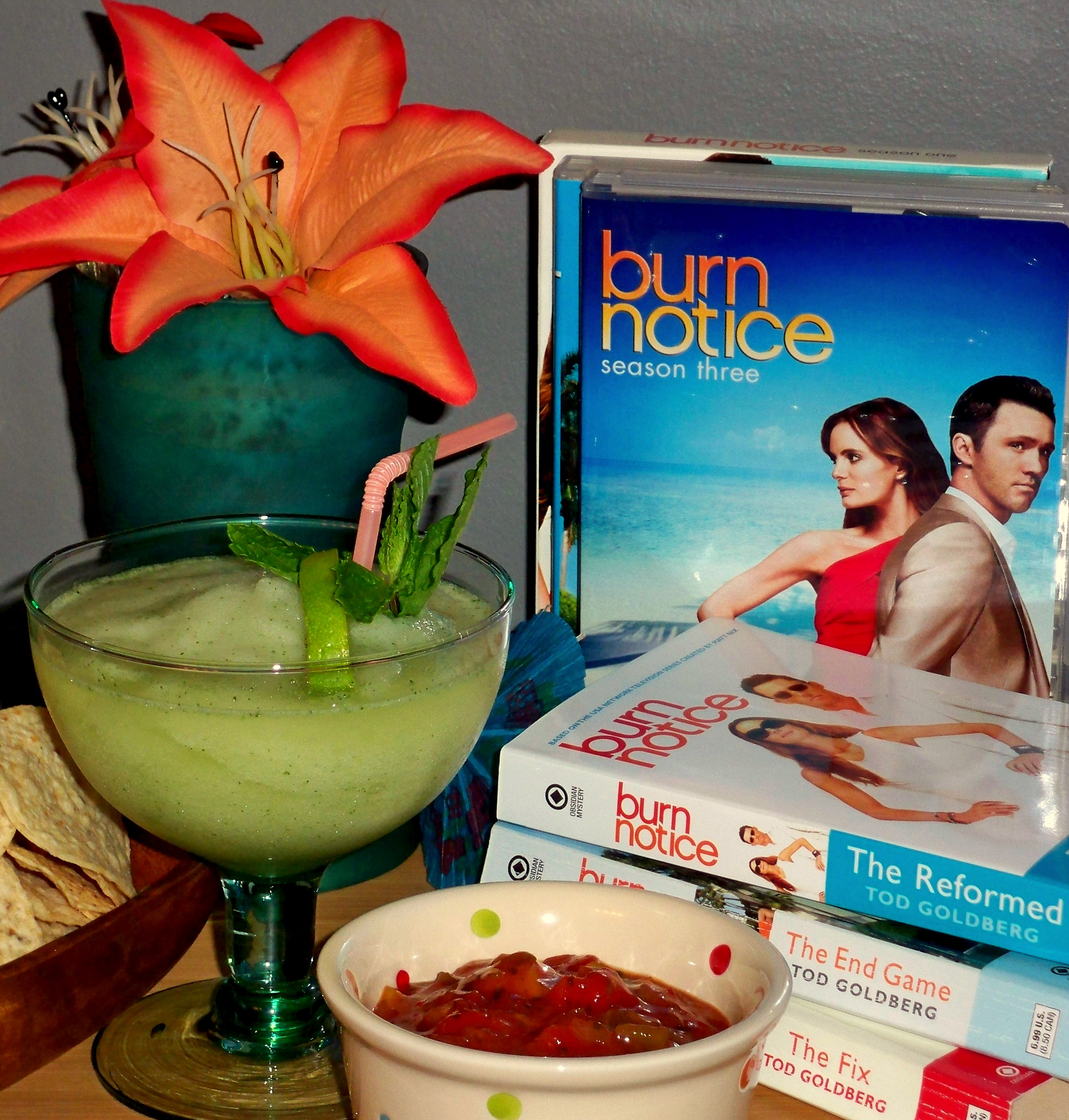 burn notice mojitos