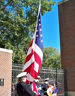 Clemson ROTC Color Guard