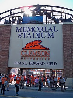 Clemson memorial Stadium