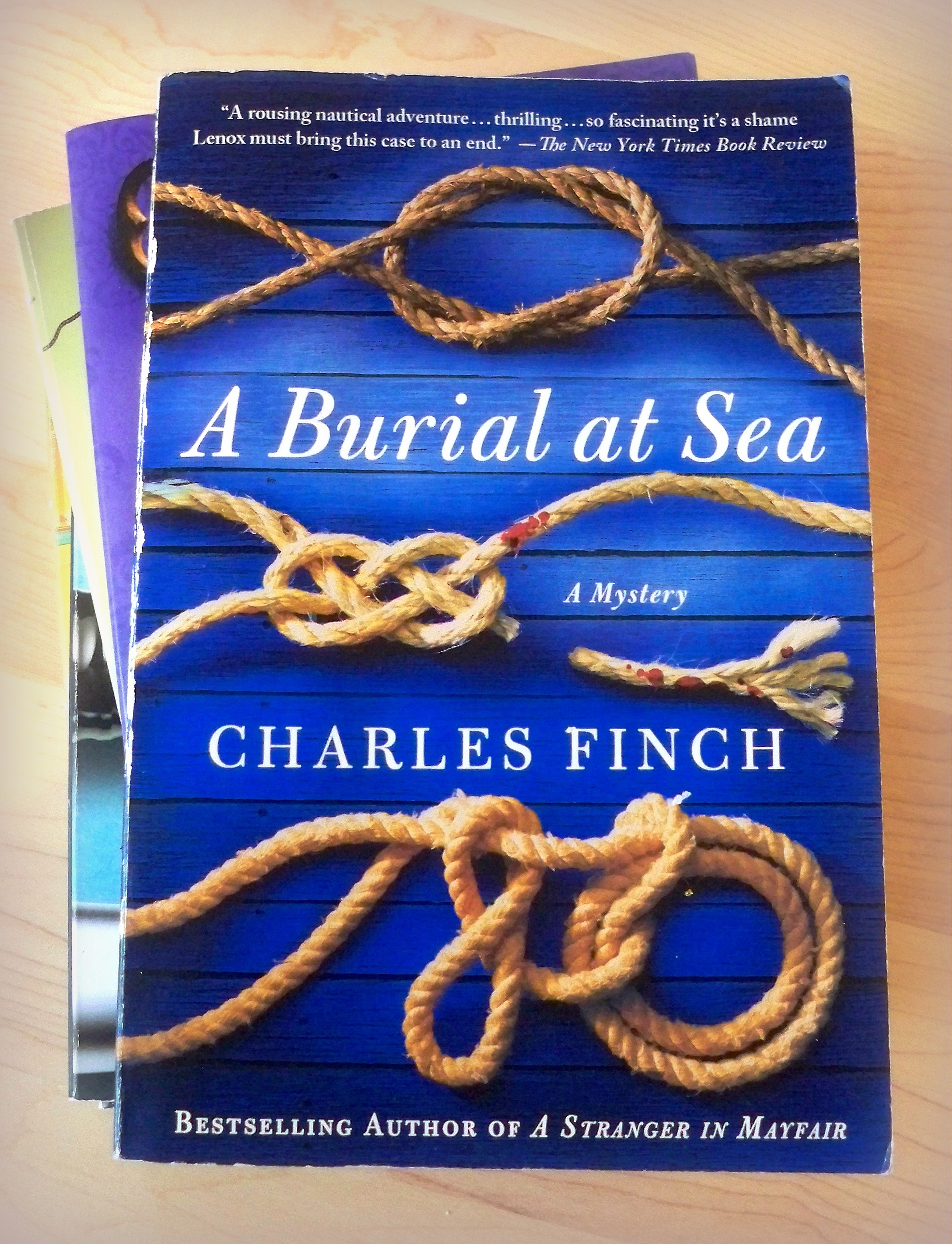 ~ a nautical Victorian era mystery...sort of Holmes or Poirot at sea :-) ~