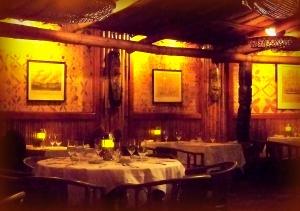 ~ dining room ~ old school tiki decor ~