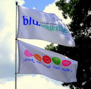 flying our Bluwaterlife colors ~~~