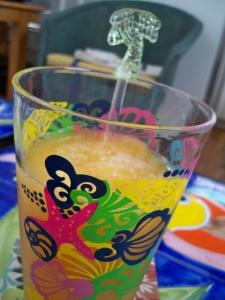 ~~~ and really good fresh peach daquiris