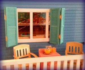 porch window installed!