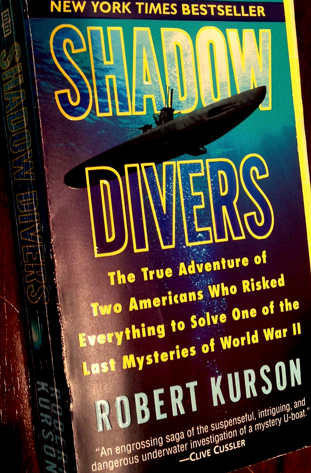SHADOW DIVERS ~ summer reading treasure