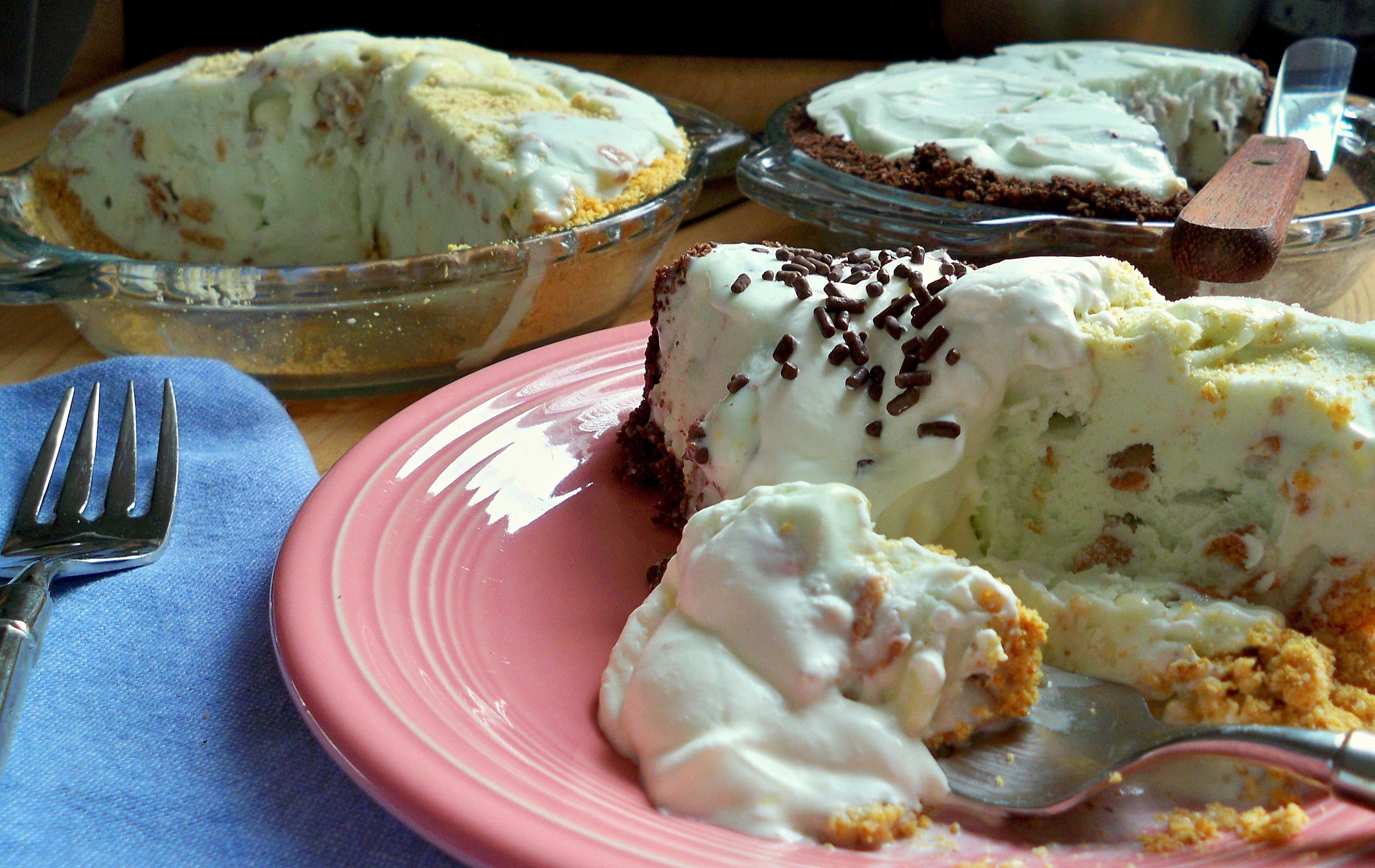 key lime ice cream pie ~ oh my!