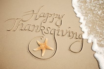 being thankful ~