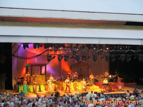 Jimmy Buffett and the Coral Reefers at Chastain Park in Atlanta GA