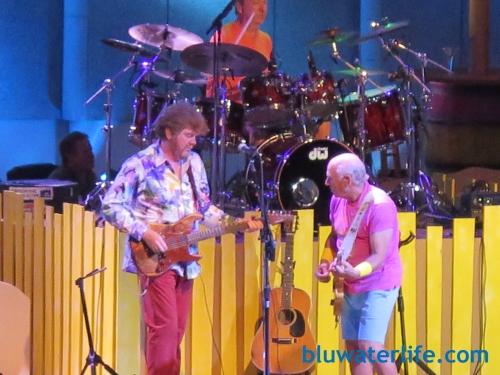 Jimmy Buffett and Mac McAnally at Chastain Park Atlanta GA