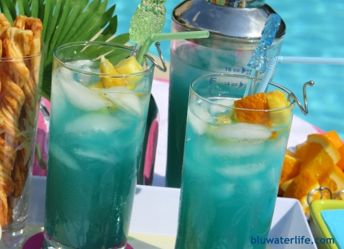 Bluwatersplash drink