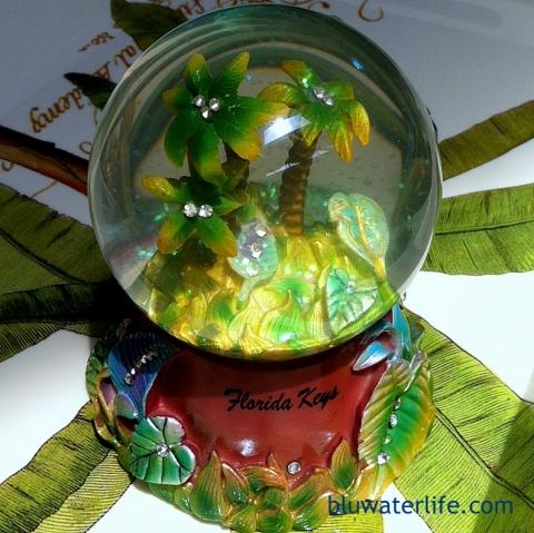 Florida Keys water globe souvenir