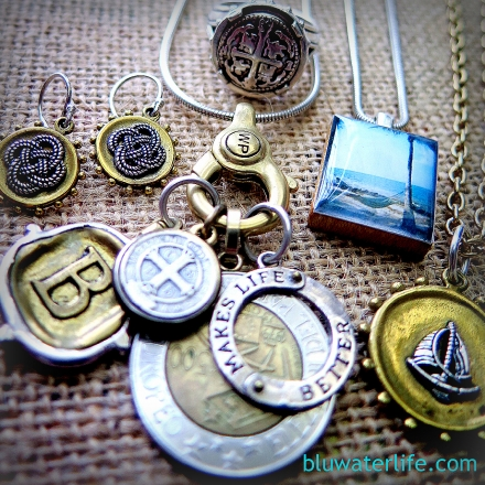 Waxing Poetic jewelry charms