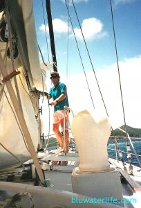 Sailing the BVI