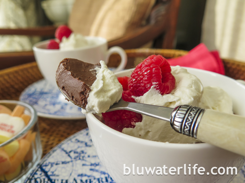 {easy} chocolate pot de creme ~