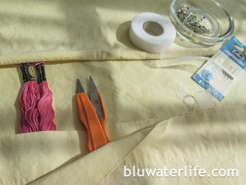 DIY Knife Roll Bag