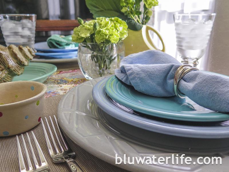 Fiestaware ~ bluwaterstyle!