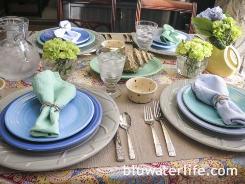 Fiestaware Color : fiestaware table settings - Pezcame.Com