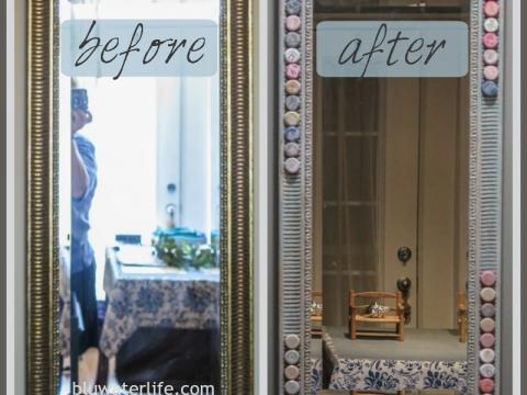 DIY Bottlecap Mirror