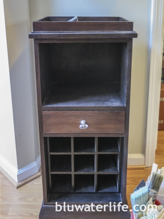 Chalk Paint Bar Cabinet-1