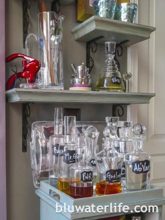 Chalk Paint Bar Cabinet-19
