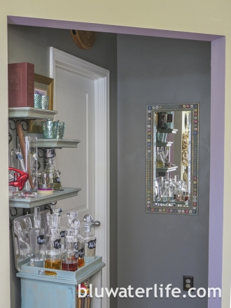 Chalk Paint Bar Cabinet-26