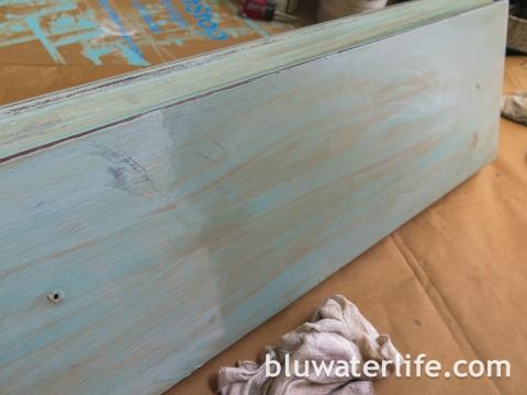 Chalk Paint Bar Cabinet-7