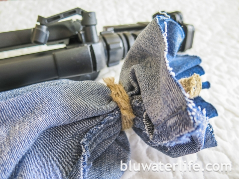 DIY Tripod Carry Bag
