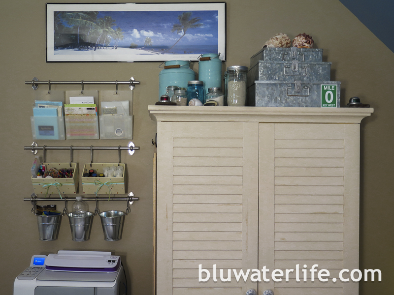 bluwaterstyle craft room tour ~