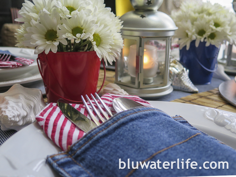 July 4th table ideas ~