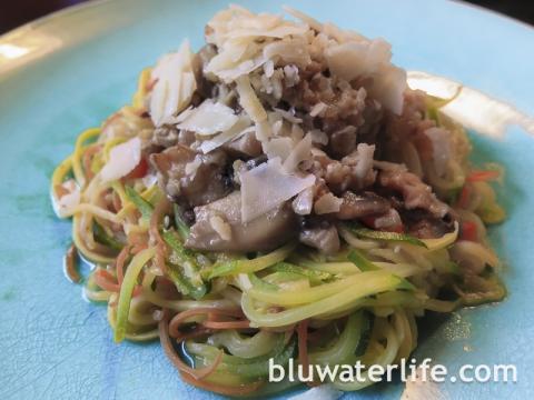 Spiral Sliced Veggie Noodles