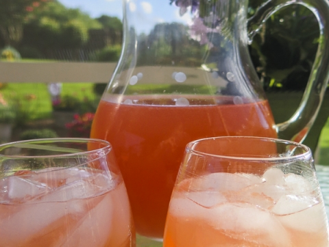 Summer Sunset Sangria