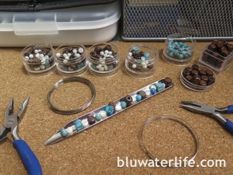 DIY Beaded Napkin Rings