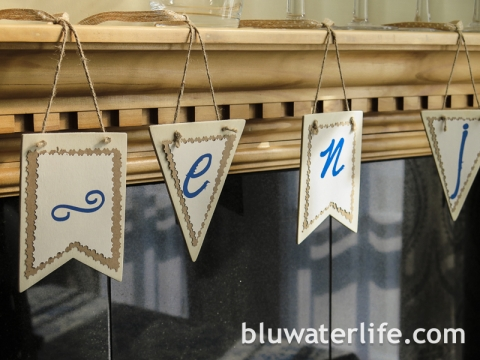{easy} pennant banner ~ enjoy!