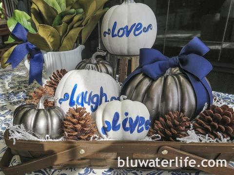 Pumpkin Center Piece Ideas