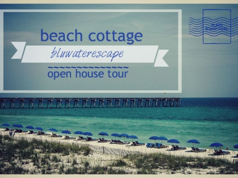 perfect beach cottage ~ tour!