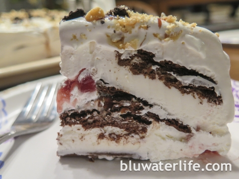 easy ice cream cake ~