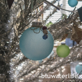 sea glass ornaments ~