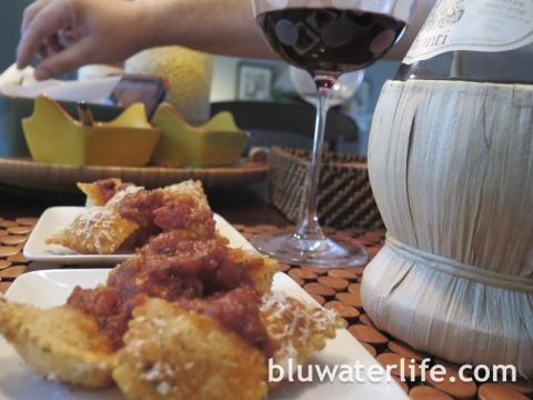 Fried Raviloi Appetizer