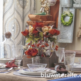 thanksgiving table setting ~