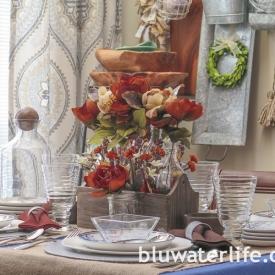 thanksgiving table setting ~