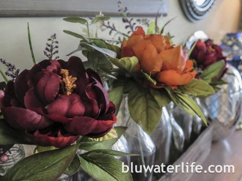 fall color wreath