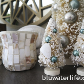 coastal Christmas decor ~
