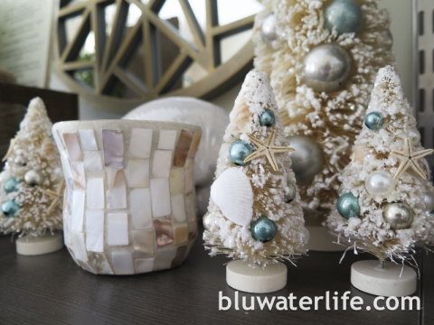 Coastal Christmas Decor Bluwaterlife